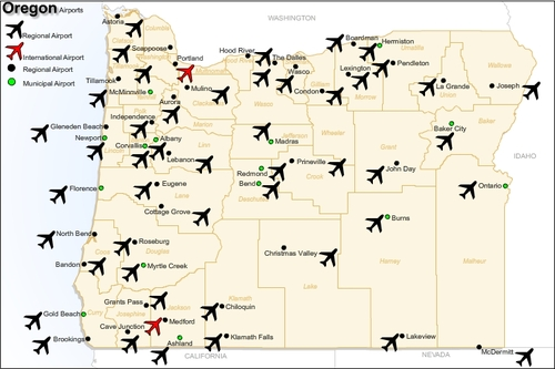 Pictures Graphics Archives Page Of Pligg - Airports in oregon