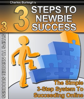 Pay for 3 Steps To Newbie Success - Make Money From Your Website