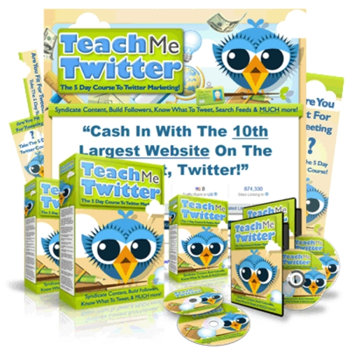 Pay for How to Use Twitter - 5 Days Course on Twitter Marketing