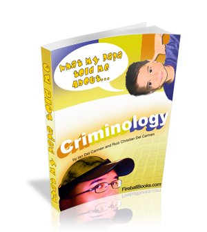 Thumbnail What my Daddy told me about: Criminology