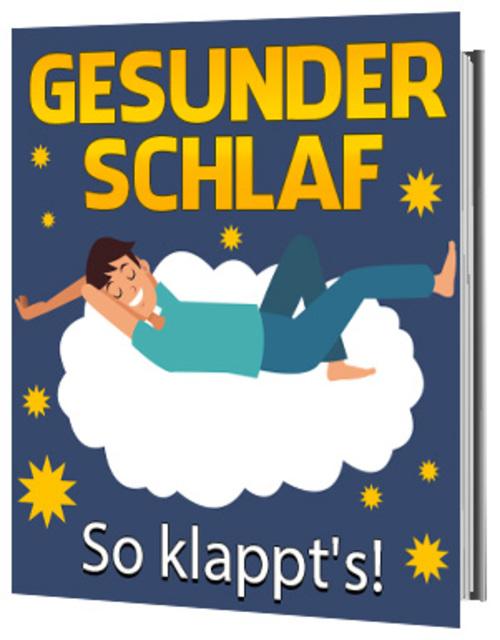 Pay for Gesunder Schlaf - So klappt es! eBook Ratgeber