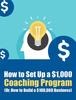 Thumbnail Set Up a Coaching Program