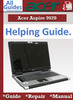 Thumbnail Acer Aspire 9920 Guide Repair Manual