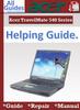 Thumbnail Acer TravelMate 540 Guide Repair Manual