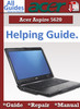 Thumbnail Acer Aspire 5620 Guide Repair Manual