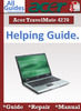 Thumbnail Acer TravelMate 4270 Guide Repair Manual