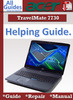 Thumbnail Acer TravelMate 7730 Guide Repair Manual