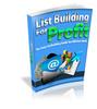 Thumbnail List Building for Profit (MRR)