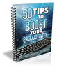 Thumbnail 50 Tips To Boost Your Productivity (MRR)