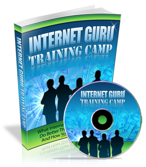 Pay for Internet Guru Training Camp (PLR)