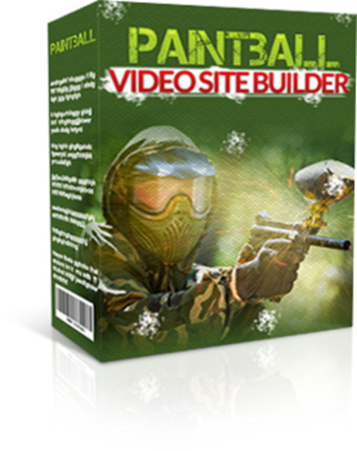 Pay for Paintball Video Site Builder (MRR)