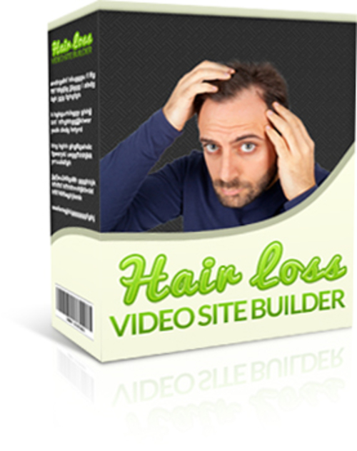 Pay for Hair Loss Video Site Builder (MRR)