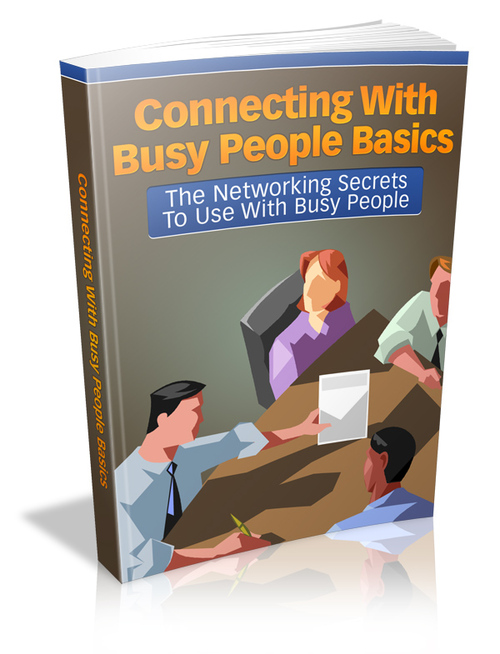 Pay for Connecting With Busy People Basics (MRR)