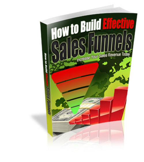 Pay for How To Build Effective Sales Funnels (MRR)