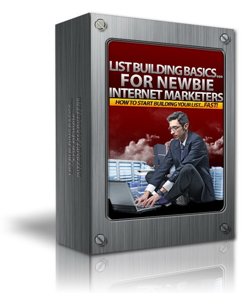 Pay for List Building Basics... For Newbie Internet Marketers (MRR)