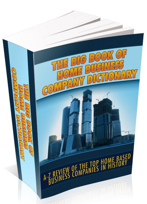 Pay for The Big Book Of Home Business Company Directory (MRR)