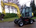 Thumbnail Yanmar B55W-1 Wheel Excavator Operation & Maintenance Manual DOWNLOAD