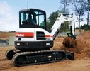 Thumbnail Bobcat E45 Compact Excavator Service Repair Workshop Manual DOWNLOAD (S/N AG3G11001 & Above, S/N AHHC11001 & Above)