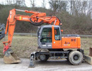Thumbnail HITACHI ZAXIS 130W 160W 180W 210W Wheeled Excavator Operator Manual DOWNLOAD