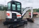 Thumbnail Bobcat E25 Compact Excavator Service Repair Manual (S/N AB8B11001 & Above )
