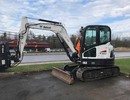 Thumbnail Bobcat E63 Compact Excavator Service Repair Manual (S/N B34R11001 & Above )