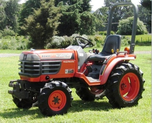 Kubota B2400hsd Tractor Illustrated Master Parts List Manual Download Tradebit