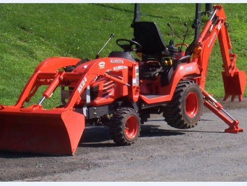 Kubota BX24D Tractor Illustrated Master Parts List Manual DOWNLOAD