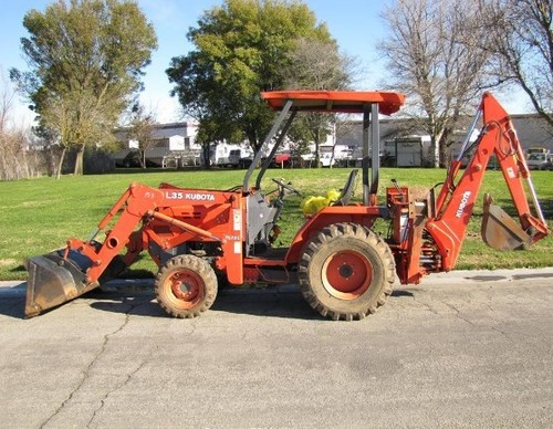 Pay for Kubota L35 Tractor Illustrated Master Parts List Manual DOWNLOAD