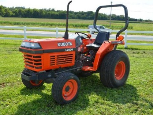 Kubota Tractor Spare Parts : Kubota l dt tractor illustrated master parts list