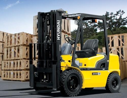 Hyundai 20D-7 25D-7 30D-7 33D-7 Forklift Truck Service Repair Workshop ...