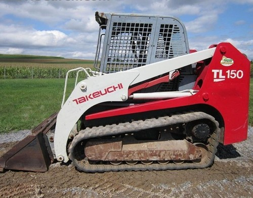 Pay For Takeuchi Tl150 Crawler Loader Parts Manual Download  Sn  21500004 And Up