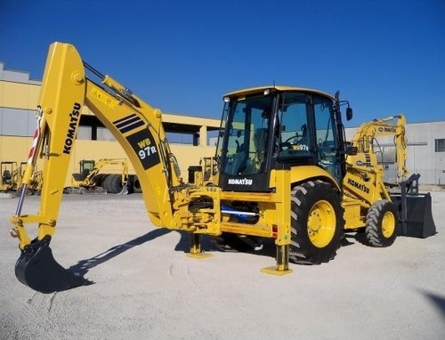 komatsu wb97r 2 backhoe loader service repair workshop. Black Bedroom Furniture Sets. Home Design Ideas