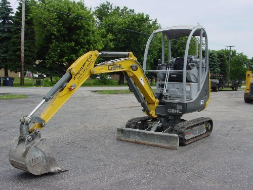Gehl 153 Compact Excavator Parts Manual DOWNLOAD