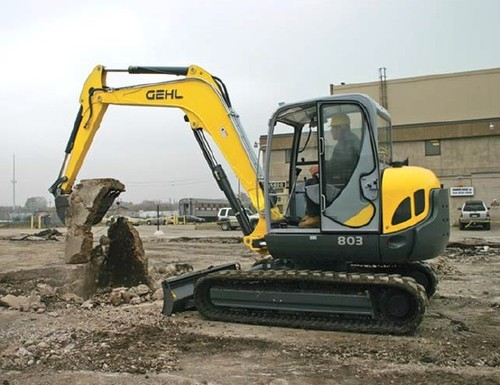 Pay for Gehl 803 Compact Excavator Parts Manual DOWNLOAD (Beginning Serial Number: AC02528)