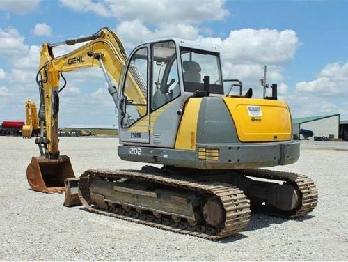 Gehl Ge1202 Compact Excavator Parts Manual Download  Beginning Serial Number  Ab00473