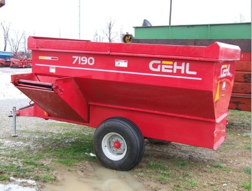 Pay For Gehl 7190 Feeder Wagon Parts Manual DOWNLOAD