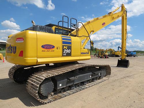 komatsu pc290lc 6k pc290nlc 6k hydraulic excavator service repair rh tradebit com Excavators KOMATSU Pc290 Komatsu D65EX