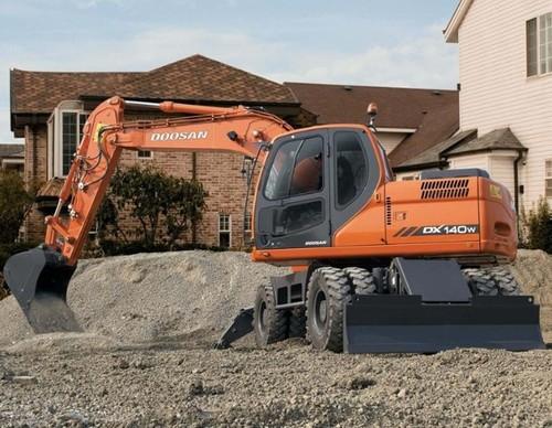 Pay for Doosan Daewoo DX140W, DX160W Excavator Parts Manual DOWNLOAD