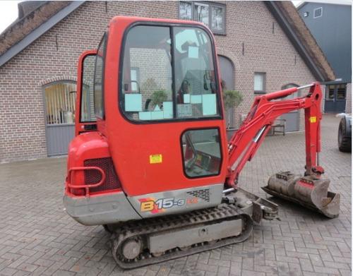 Yanmar B15-3, B17-3, B18 Excavator Operation & Maintenance Manual DOWNLOAD