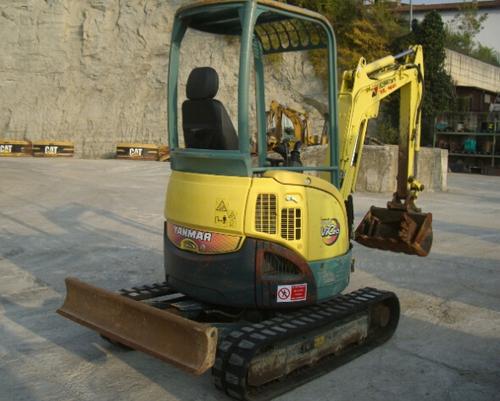 Yanmar ViO20 Excavator Service Repair Workshop Manual DOWNLOAD