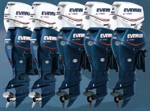2007 Johnson Evinrude 75  90 Hp E