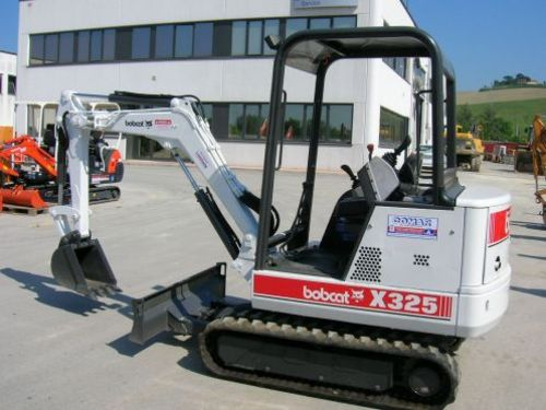 Pay for Bobcat X325 Hydraulic Excavator Service Repair Workshop Manual DOWNLOAD (S/N 511820001 & Above)