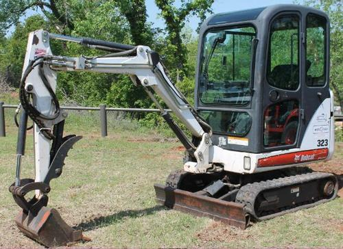 Pay for Bobcat 321 - 323 Compact Excavator Service Repair Manual (S/N A76511001 & Above, A01711001 & Above)