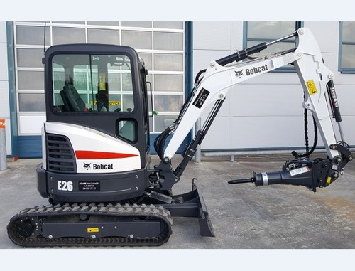 Pay for Bobcat E26 Compact Excavator Service Repair Manual (S/N AJRY11001 & Above, B33211001 & Above, B3JE11001 & Above )
