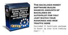 Thumbnail Backlinks Robot - Generates 781 backlinks to a site in 3days