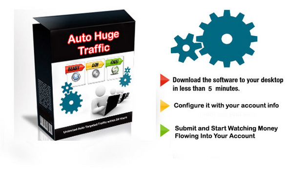 Pay for New Traffic Software Drive Highly Targeted 1,456 Buyers Fast