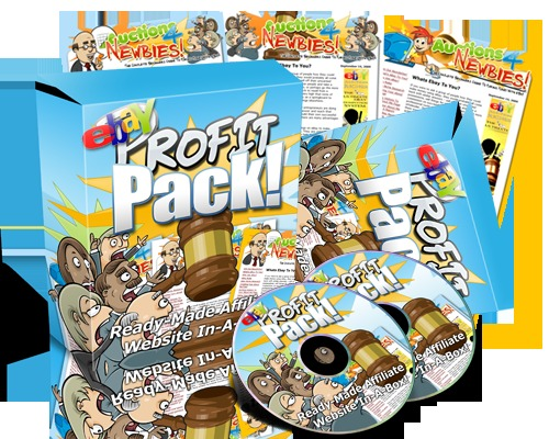 Pay for NEW eBay Profit Pack eBook Package (MRR).rar