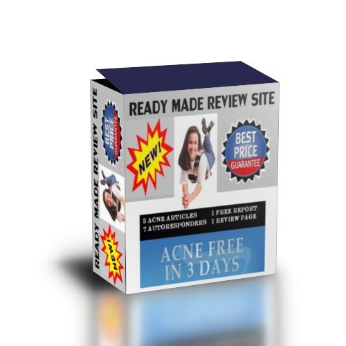 Pay for Ready Made Review Site : Acne Free In 3 Days