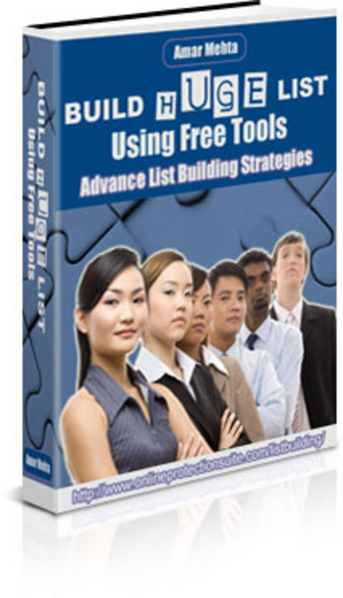 Pay for Build Huge List Using Free Tools With Master Resale Rights
