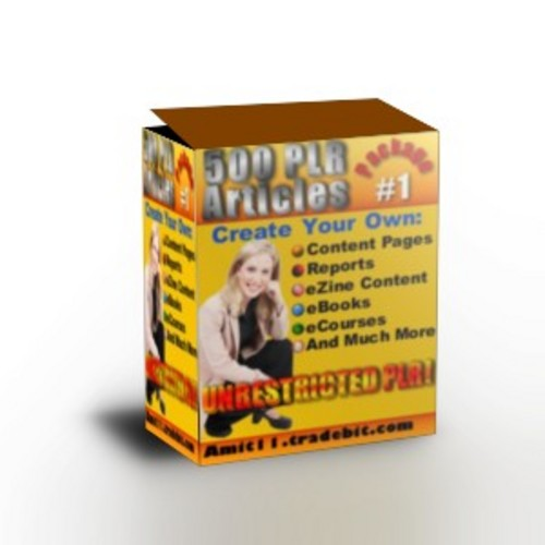 Pay for 500 PLR Articles *Very High Quality*